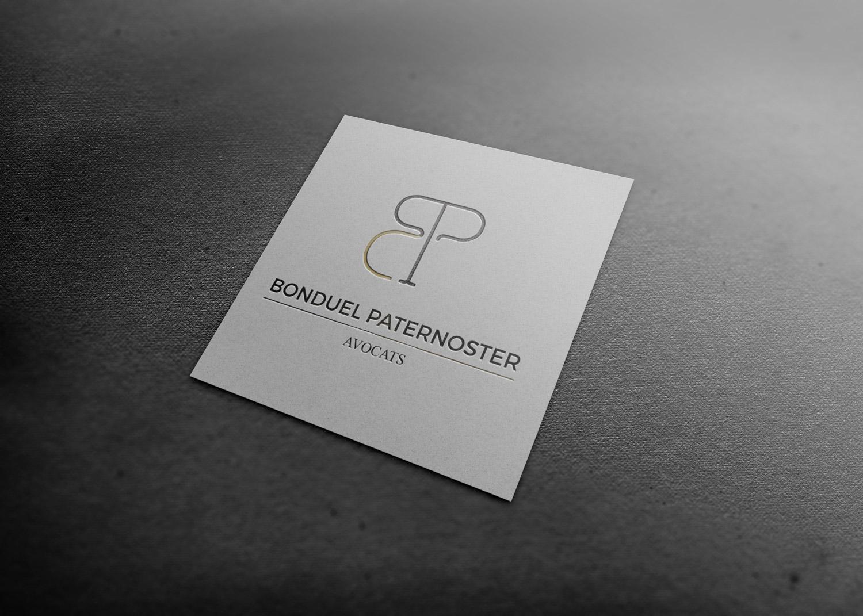 Réalisation Logo Bonduel et Paternoster Avocats