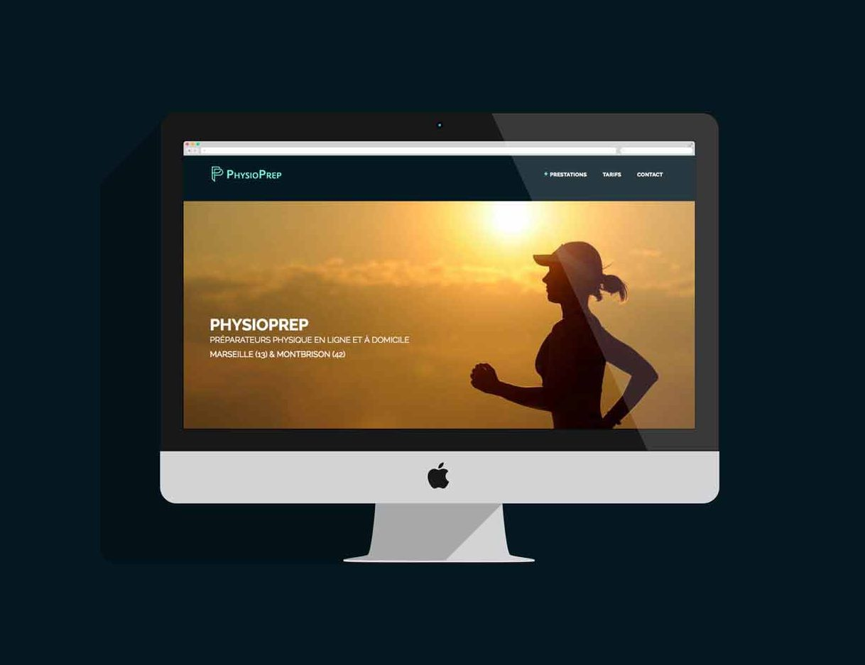 Site Internet de PhysioPrep