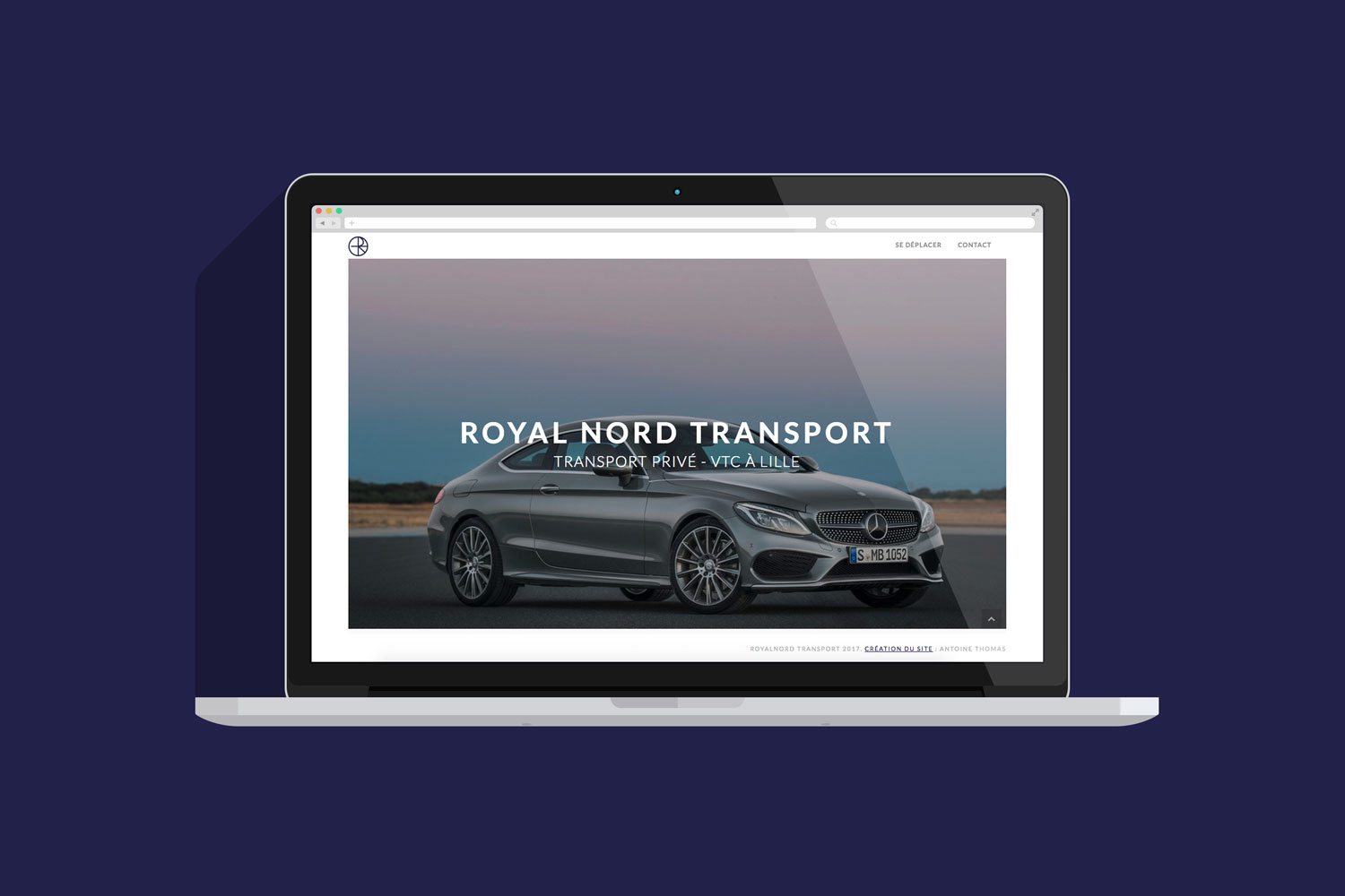 Création du site internet Royalnord Transport