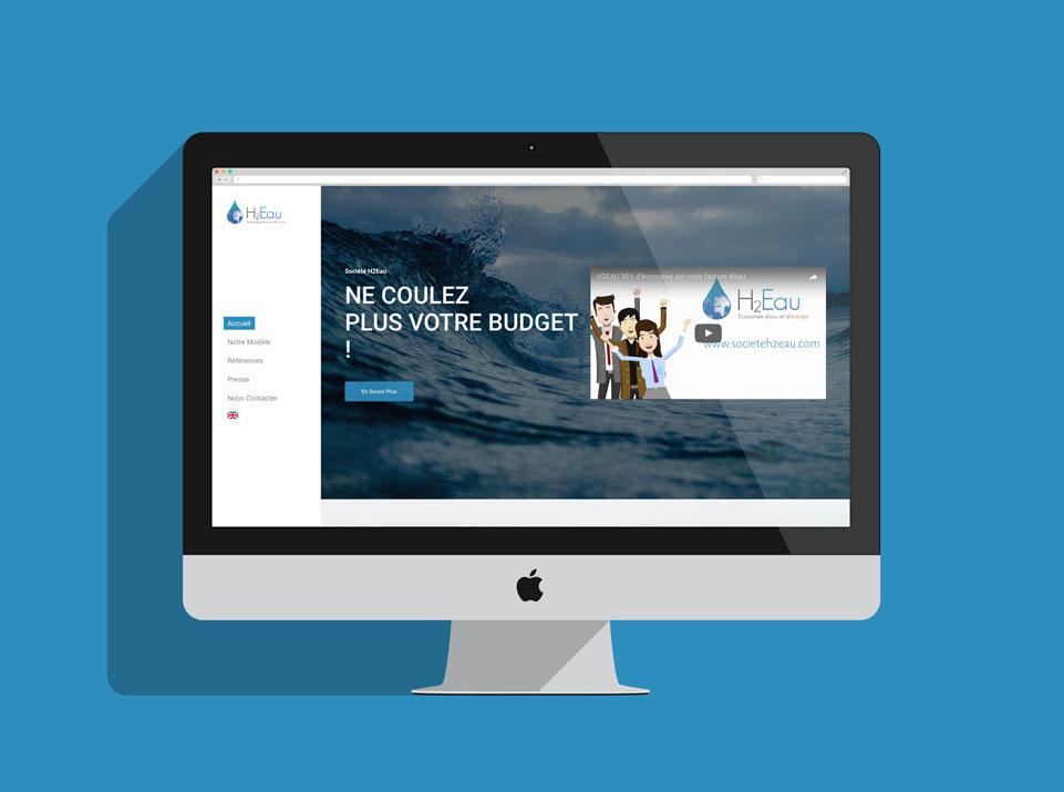 Site de la société H2Eau